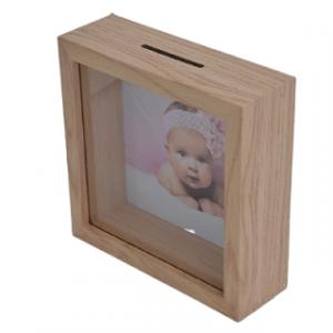 moldura mealheiro madeira – 20×20