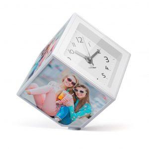cubo giratório 10×10 com relógio