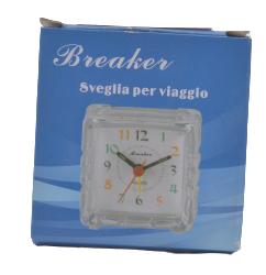 relógio despertador com foto